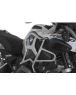 Stainless steel crash bar extension for original BMW engine crash bar BMW R1200GS Adventure from 2014