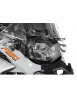 Headlight protector makrolon with quick release fastener for BMW F850GS Adventure *OFFROAD USE ONLY*