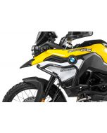 Stainless steel crash bar, black for BMW F850GS/ F750GS