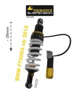 Touratech Suspension lowering shock -30 mm for BMW F750GS ab 2018 type Level2