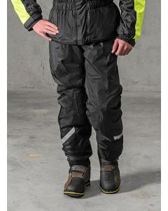 Rain trousers with membrane